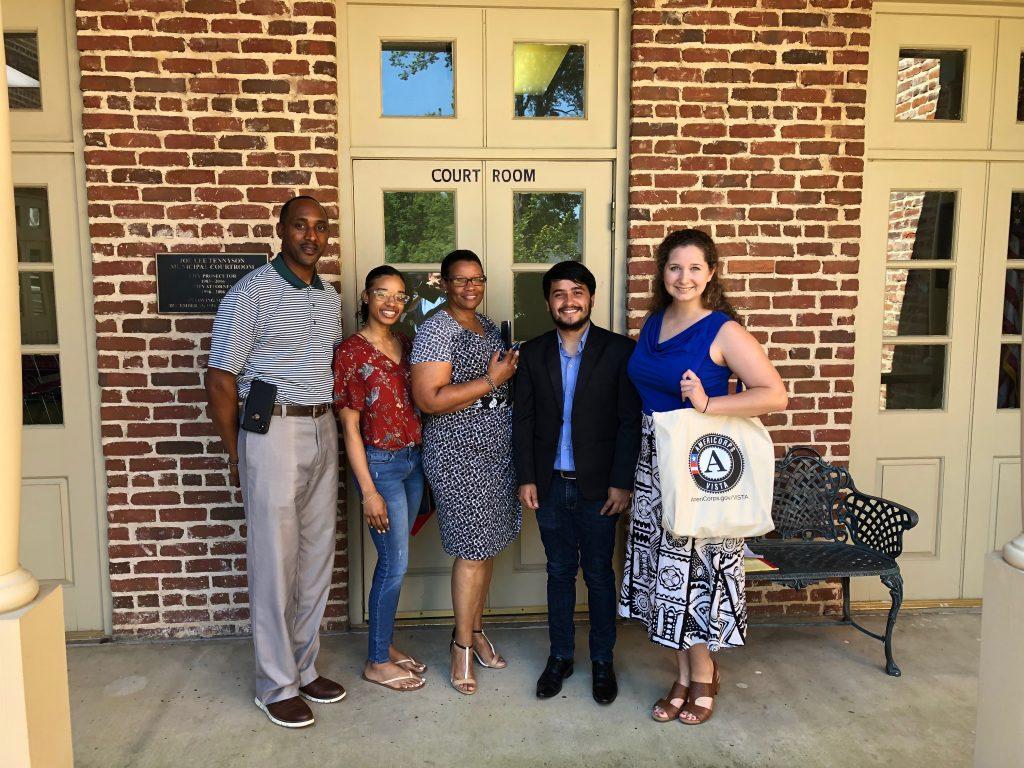 Charleston- Navi and Nala Meet with Mayor Smith and Ms. Norma